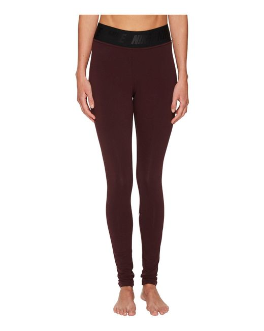 Nike - Purple Sportswear Leg-a-see High Waist Legging - Lyst