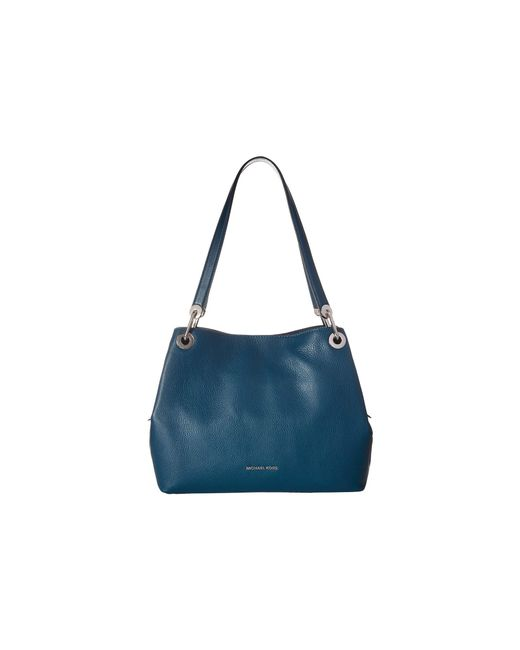 MICHAEL Michael Kors - Blue Raven Large Shoulder Tote (luxe Teal) Tote Handbags - Lyst