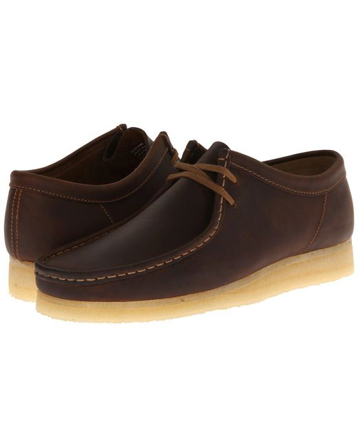 Clarks - Brown Wallabee Suede Chukka Boots for Men - Lyst