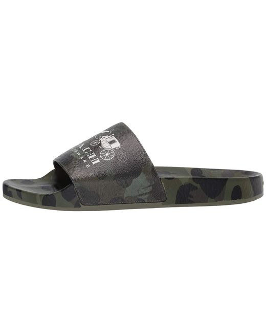 bc4b58d57a4 ... COACH - Rexy And Wild Beast Pool Slide (green) Men s Sandals for Men ...