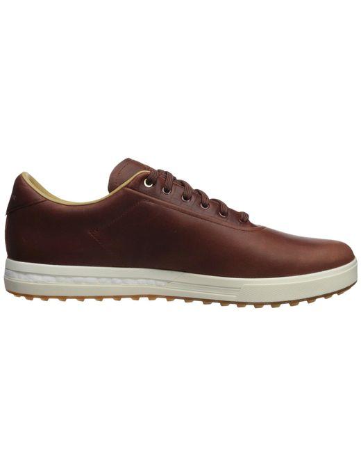 detailed look 9522b e152e ... Adidas Originals - Brown Adipure Sp (footwear Whitefootwear Whitegrey  Two) ...