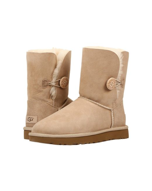 Ugg - Multicolor Bailey Button Ii (fawn) Women's Boots - Lyst