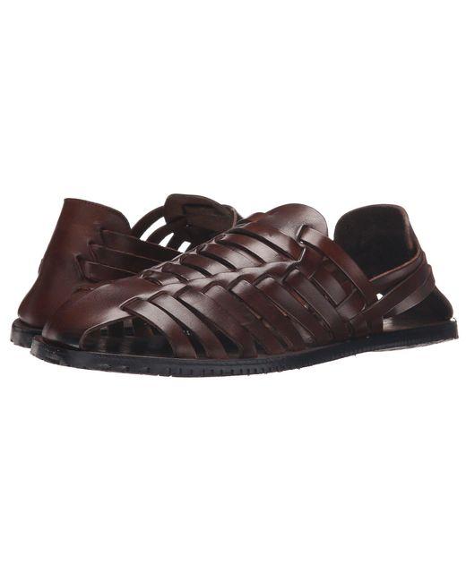 Massimo Matteo - Brown Huarache (marrone) Men's Slip On Shoes for Men - Lyst