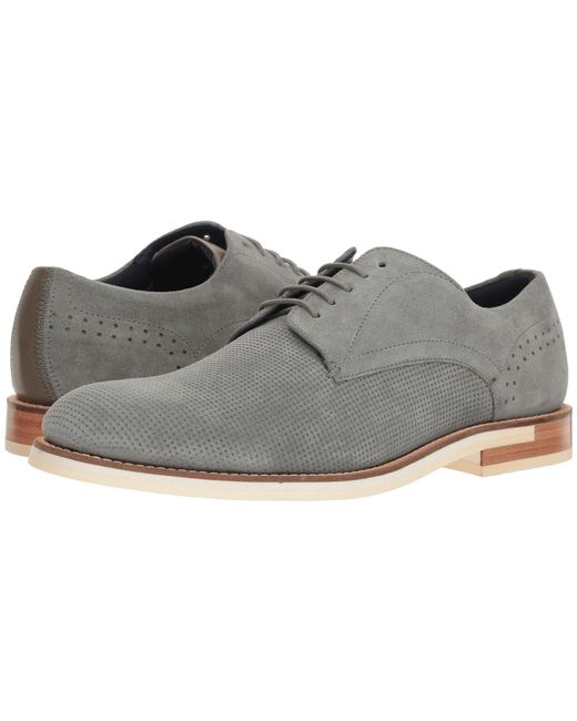 Ted Baker - Gray Lapiin (grey Suede) Men's Shoes for Men - Lyst