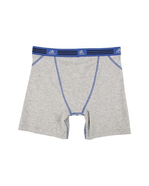 Lyst Brief Adidas Athletic Stretch 2 pack Boxer Brief (marl 2 Heather Heather 57c94b2 - rogvitaminer.website