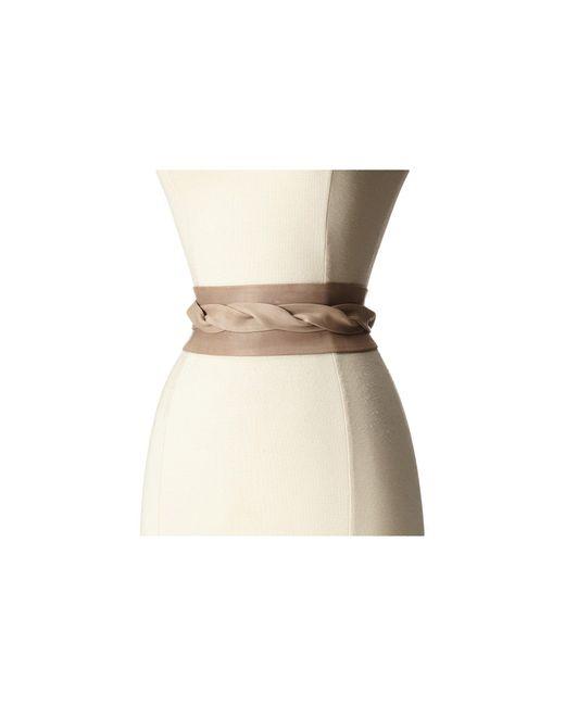 Ada - Natural Obi Classic Wrap (chambray) Women's Belts - Lyst