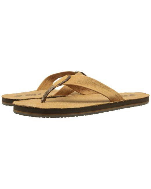 Scott Hawaii - Natural Kakina (tan) Men's Sandals for Men - Lyst