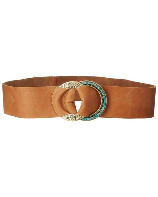 Leatherock - Brown Jessa Belt (black) Women's Belts - Lyst