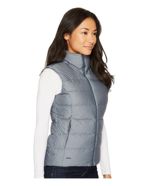 ... The North Face - Blue Nuptse Vest (tnf Black (prior Season)) Women s ... e0d1bb43c