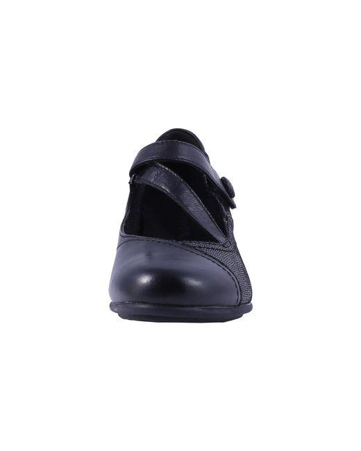 a6f75694d3 Lyst - Aravon Portia (black Multi) Women's Maryjane Shoes in Black