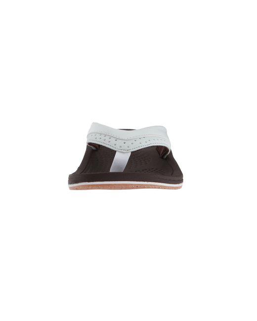 1f8ff1d52afa ... New Balance - Brown Renew Thong (rose Gold) Women s Sandals - Lyst