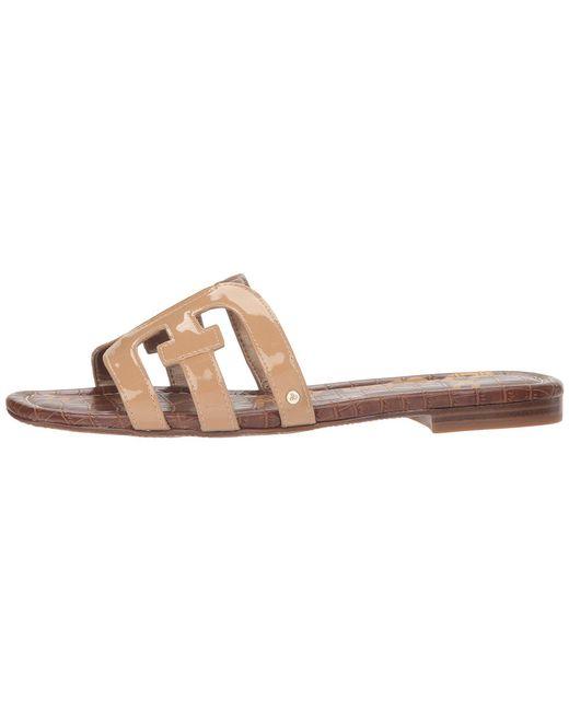 609d28f3644e ... Lyst Sam Edelman - Multicolor Bay (almond Patent) Women s Slide Shoes  ...