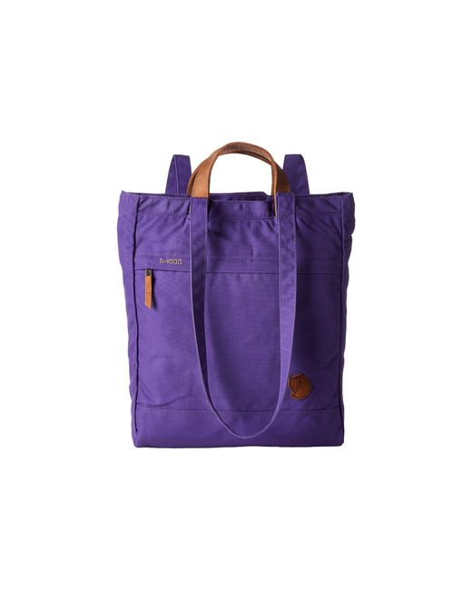 Fjallraven - Purple Totepack No. 1 (sand) Backpack Bags - Lyst