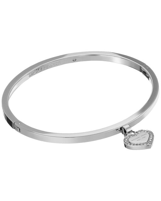 Michael Kors | Metallic Logo Bracelet | Lyst