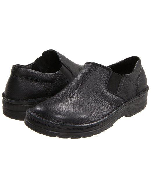 Naot - Eiger (black Textured Leather) Men's Slip On Shoes for Men - Lyst
