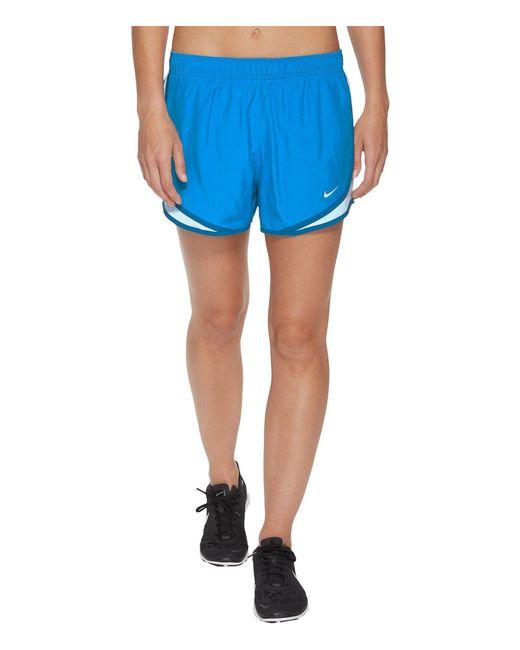 Nike - Blue Dry Tempo Short for Men - Lyst