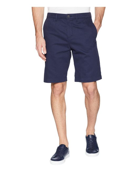 Lacoste - Blue Cotton Brushed Regular Fit Chino for Men - Lyst