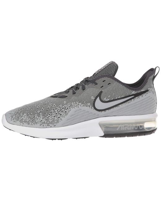 reputable site 8eca2 a8496 ... Nike - Gray Air Max Sequent 4 (black black anthracite) Men s Running ...