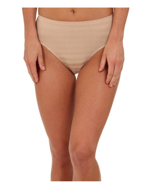 9093b65c6a7d7 Jockey - Multicolor Comfies(r) Matte Shine Hi Cut (white) Women s Underwear  ...