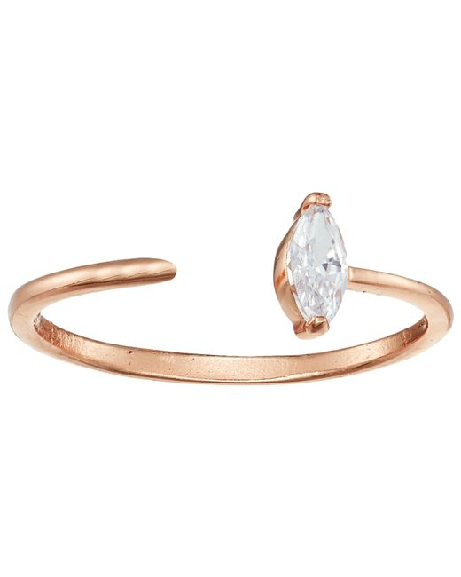 Shashi - Multicolor Jewel Ring (rose Gold) Ring - Lyst