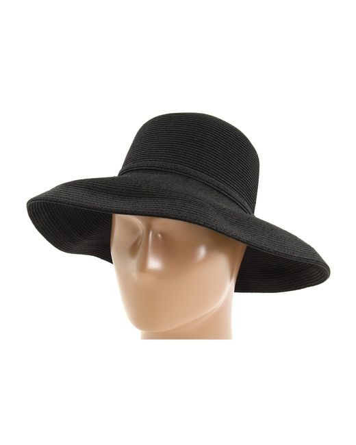 San Diego Hat Company - Paperbraid Hat Large Brim (black) Traditional Hats - Lyst