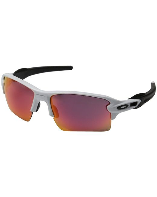 6475ed18d6 Oakley - White Flak 2.0 Xl (polished Black W black Iridium Polarized) Sport  ...
