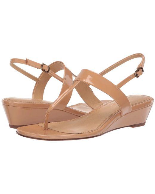 24856509b28 Splendid - Multicolor Swain (black Patent) Women s Wedge Shoes - Lyst ...