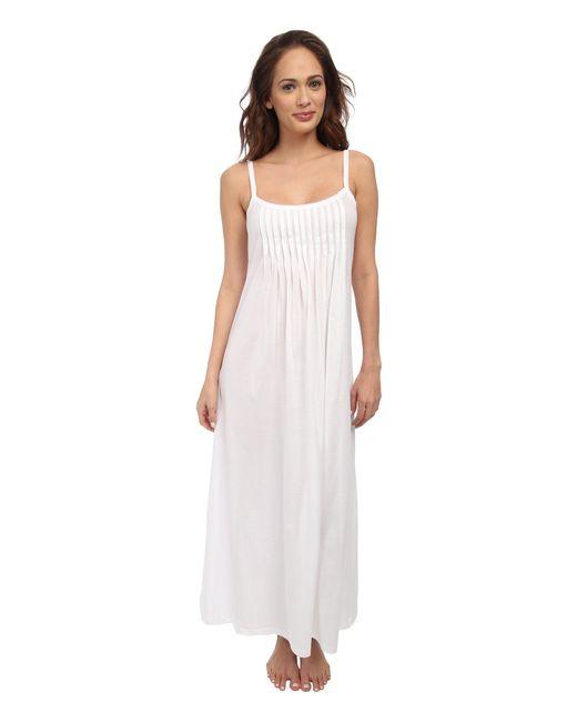 Hanro - Juliet Chemise 7748 (white) Women's Pajama - Lyst