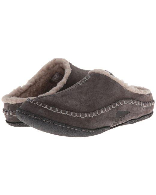 Sorel - Brown ® Men ́s Falcon Ridgetm Suede Slippers for Men - Lyst