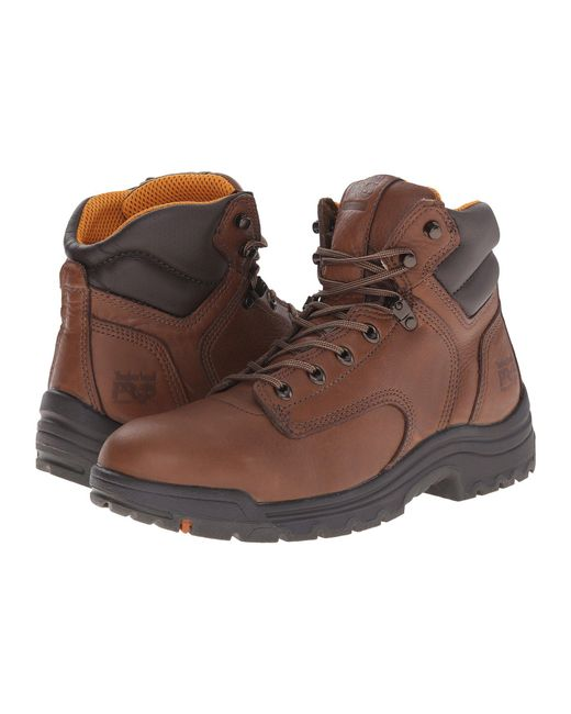 "Timberland - Brown Titan® 6"" Soft Toe for Men - Lyst"