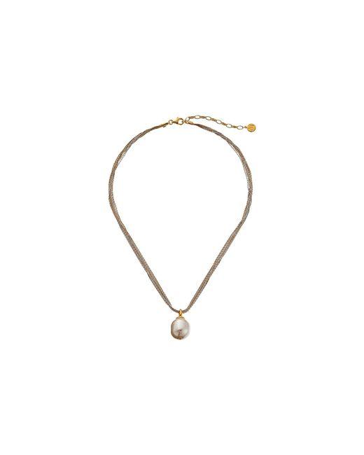 Majorica | Multicolor 16mm Baroque Multichain Necklace | Lyst