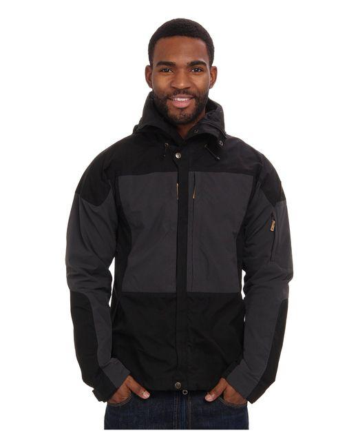 Fjallraven - Black Keb Jacket for Men - Lyst
