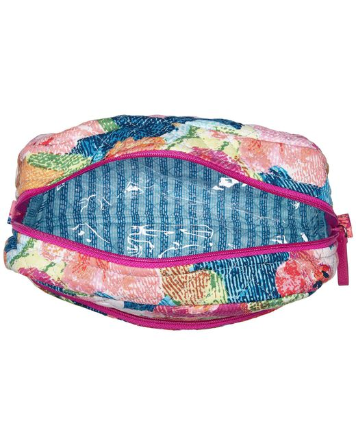 2daef7dbbfc8 ... Vera Bradley - Multicolor Iconic Large Cosmetic (bahama Bay) Cosmetic  Case - Lyst