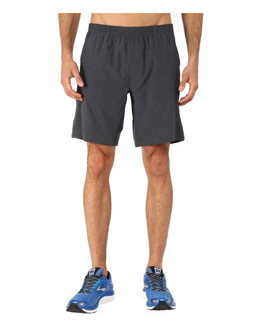 "Brooks | Black Rush 9"" Shorts for Men | Lyst"