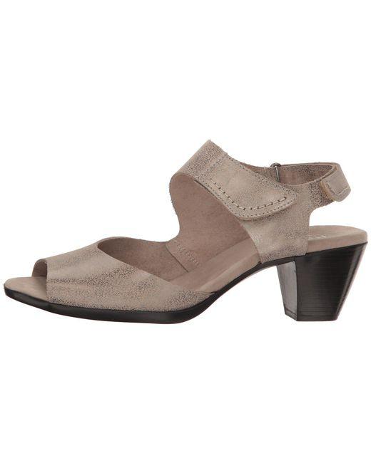 95e4291322c ... Lyst Munro - Multicolor Fabiana (black Nubuck) Women s Sandals ...