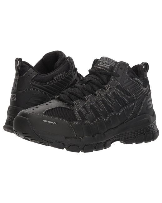 f060b0f122c9 Skechers - Outland 2.0 Girvin (black black) Men s Lace Up Casual Shoes for  ...