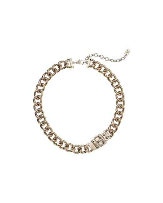 Lauren by Ralph Lauren - Metallic Buckle Collar (gold) Necklace - Lyst