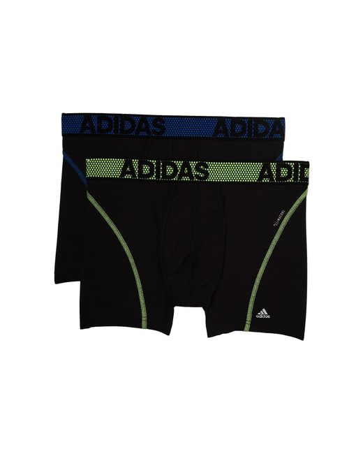 Adidas - Black Sport Performance Climacool 2-pack Trunk for Men - Lyst