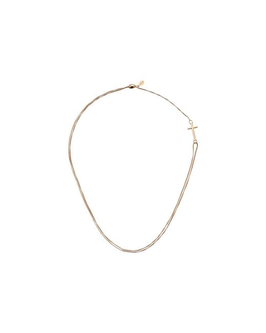 ALEX AND ANI - Metallic Precious Ii Collection Cross Adjustable Necklace (gold Plated Finish) Necklace - Lyst
