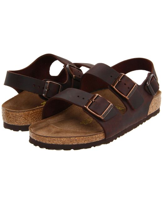 Birkenstock - Natural Milano - Oiled Leather (unisex) - Lyst