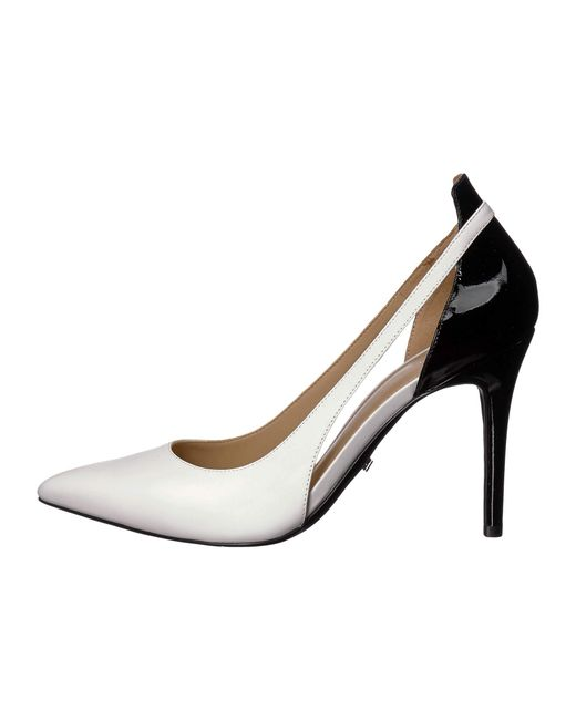 36daab04d016 ... MICHAEL Michael Kors - Cersei Pump (optic White black Vachetta patent)  Women s ...