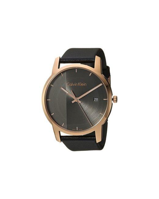 CALVIN KLEIN 205W39NYC - Gray City Watch - K2g2g6c3 for Men - Lyst