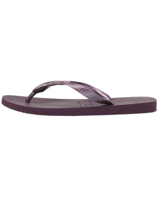 62c9c18fc ... Havaianas - Purple You Maxi Sandal (dark Khaki) Women s Sandals ...