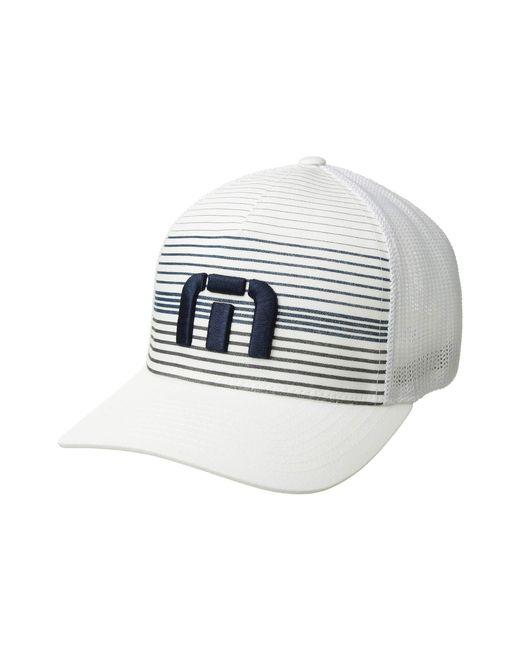 Travis Mathew - The Executive (white) Baseball Caps for Men - Lyst