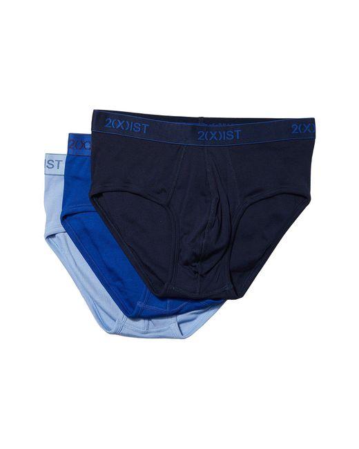 2xist   Blue 3-pack Essential Contour Pouch Brief for Men   Lyst
