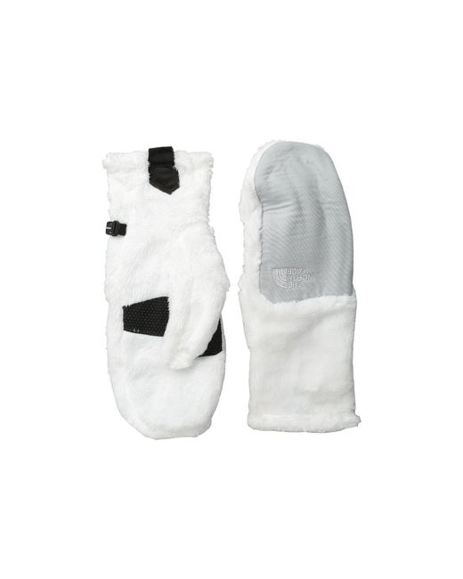 The North Face - White Denali Thermal Mitt - Lyst