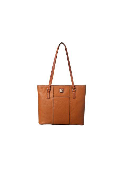 Dooney & Bourke - Brown Lexington Shopper (black) Tote Handbags - Lyst