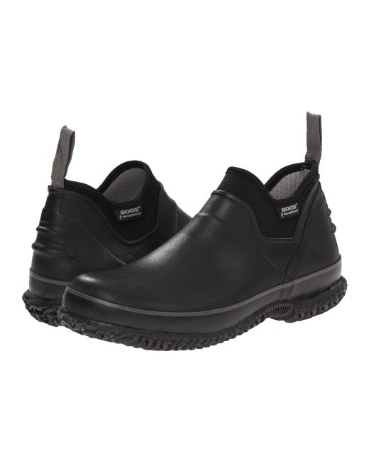 Bogs - Urban Farmer (black) Men's Slip On Shoes for Men - Lyst