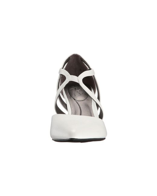 8a9929ecf32 ... LifeStride - White Seamless (black Vinci) High Heels - Lyst