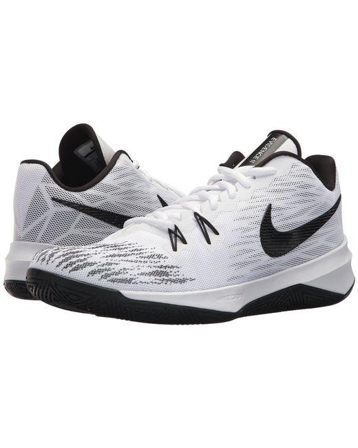 Nike - White Zoom Evidence Ii (black/metallic Gold/cool Grey) Men's Basketball Shoes for Men - Lyst